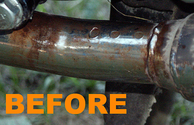 Iron Out Rust Remover Specific Detail Rust Removal Exhaust